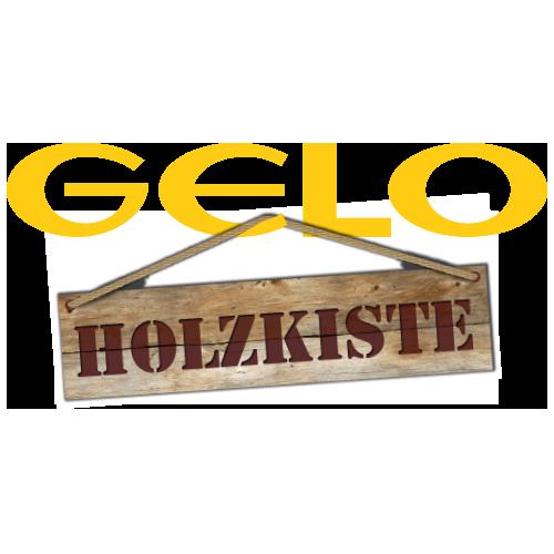 Gelo Holzkiste